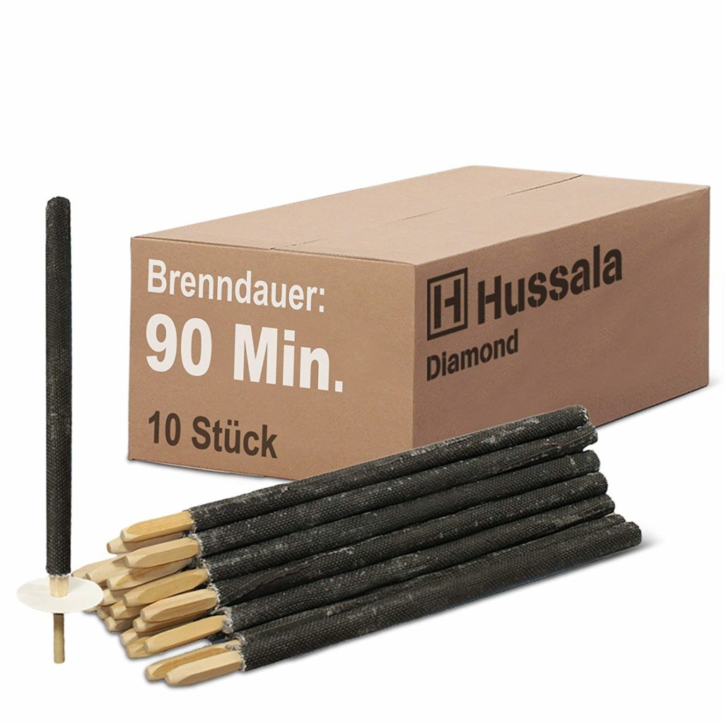 Hussala - Diamond Wachsfackeln