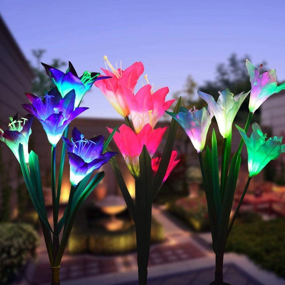 Solar Garten Blumen Lichter
